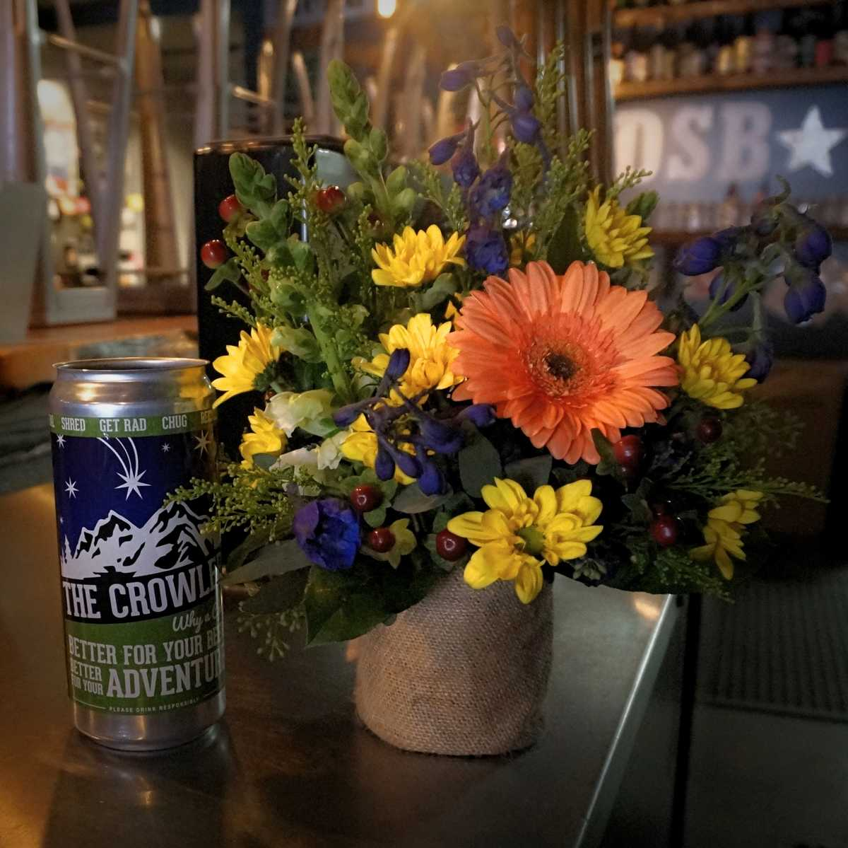Blooms and Brews