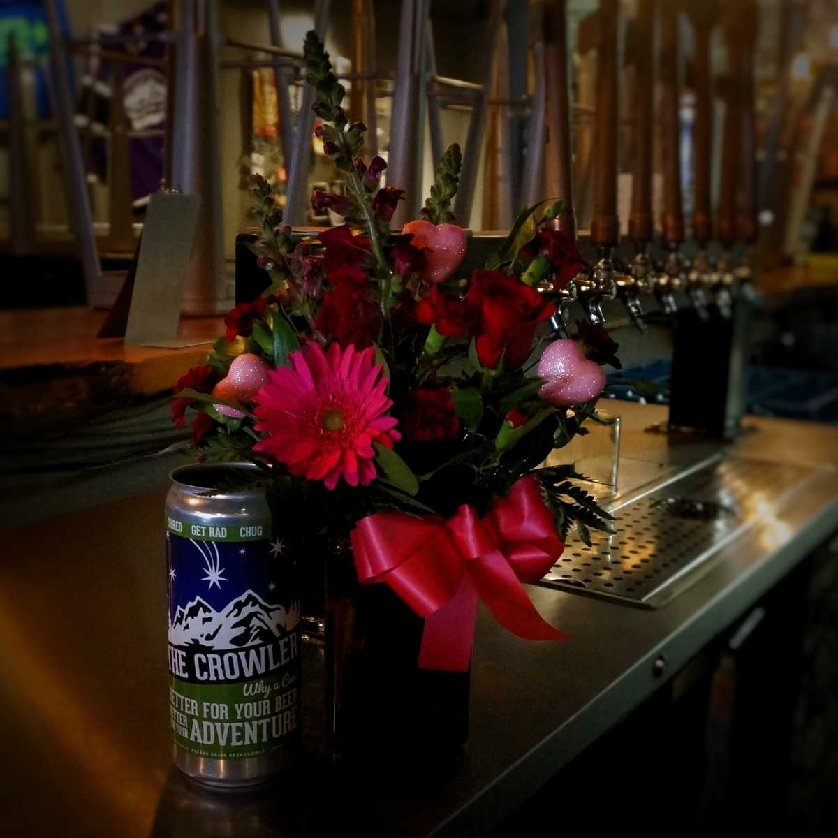 Romantic Blooms and Brews