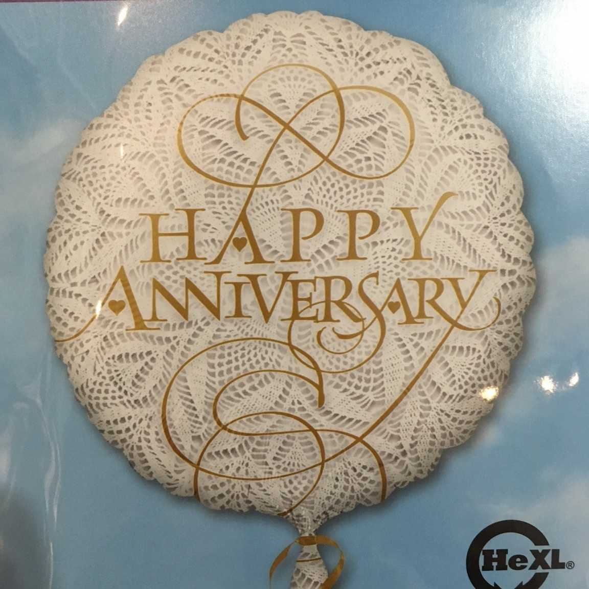Happy Anniversary Mylar