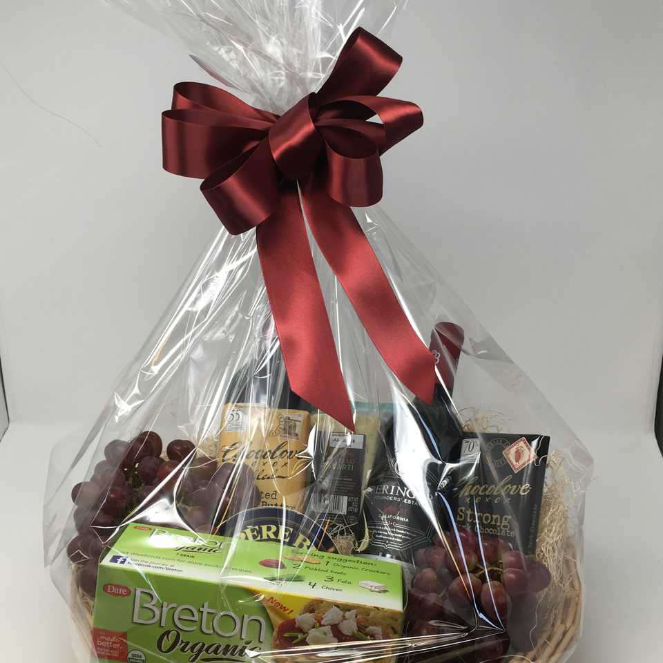 Wine & Chocolate Gourmet Basket