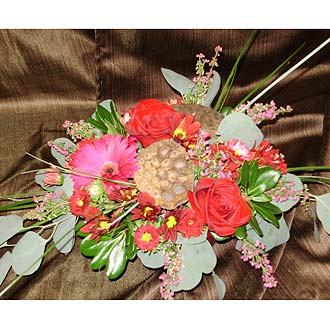 Elegant Holiday Centerpiece as Shown